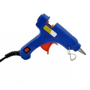 Pistola Revólver Suporte Cola Quente Aquecimento Tomada Portátil Profissional Artesanato Tecido