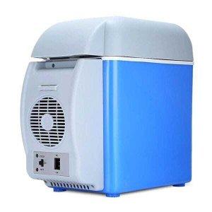 Mini Geladeira Frigobar Cooler Veicular Barcos Viagem Camping Praia Multi Função Frio Quente 7.5L