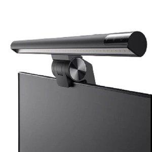 Barra Iluminação LED 3 Cores Monitor Tela Notebook Computador Luminária Brilho Luz Ajustável - Preto