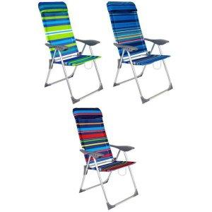 Cadeira Belfix Sortida, 5 posições, Alumínio - 25900