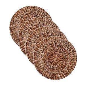 Sousplat com Capa estampa Ratã impressa tecido Microfibra - 4 Peças