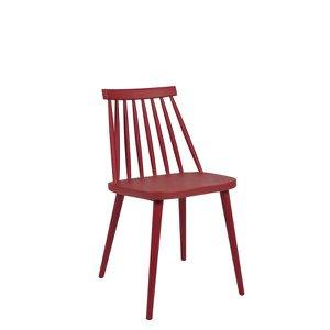 Cadeira Helô Vermelho Marsala MOR