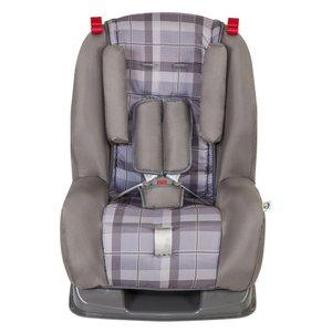 Cadeira Para Auto Tutti Baby Atlantis Para Crianças De 9 Até 25 Kg – Xadrez Cinza