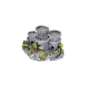 Enfeite de Resina Castelo de Pedra para Aquários - Fragata