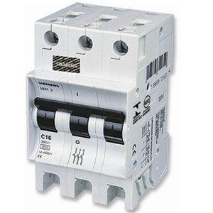 Disjuntor Tripolar 25a Din 5sx1 325-7 Curva C Siemens