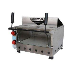 Forno de Pizza a Gás Refratário C/ Grill Infravermelho - Cefaz