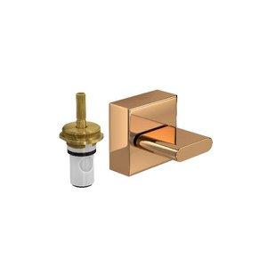 """Acabamento p/ Registro de Pressão c/ Mecanismo MRV 1/2"""" e 3/4"""" Polo Red Gold Deca"""
