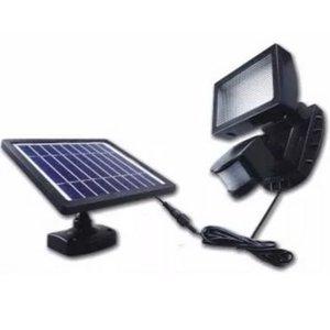 Refletor Solar 72 LEDs Longa Autonomia com Sensor