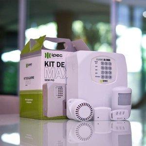 Alarme Residencial Completo 4 Sensores 1 Sirene 1 Controle