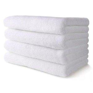 Kit 10 Toalhas De Banho Brancas jogo de toalha para Hotel