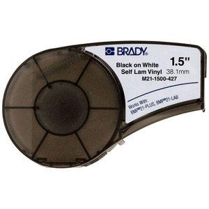 Etiqueta Vinil Branca Brady 38,1mm x 4,27m M21-1500-427