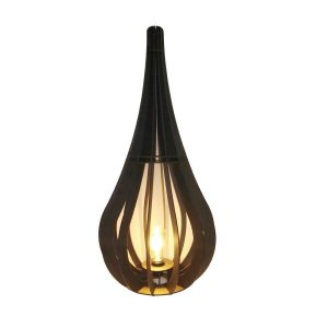 Luminária de Chão Capadócia mod. Gota Tabaco 80cm
