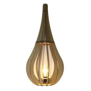 Luminária de Chão Capadócia mod. Gota Cru 80cm