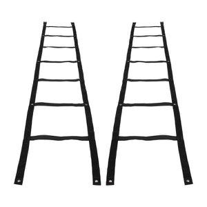 Escada de Agilidade - 2 em 1 - Preto