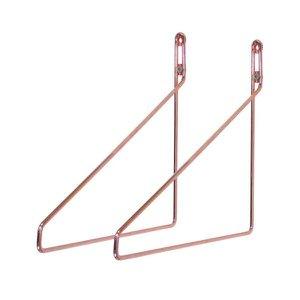 Suporte para prateleira 250mm cobre 18x250x260mm - Jomer