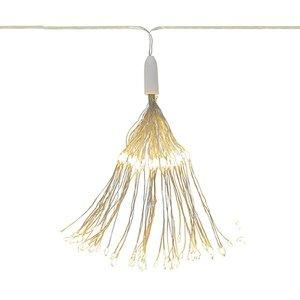 Luz Decorativa com Led Branco Quente 50X30cm D'Rossi