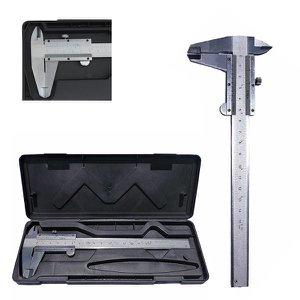 Paquímetro De Aço 6 Pol (150mm) Profissional + Estojo CHARBS