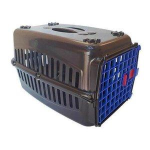 Caixa De Transporte N.3 Cachorro Gato Médio Grande Porte Rb Cor:Azul