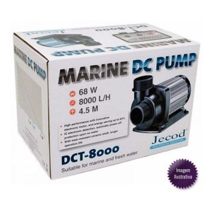 Bomba Submersa Jebao Dct8000 8000l/h Bivolt