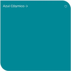 Tinta Acrilica Coral Sol E Chuva Galao 3,2l Shotcolor Turquesa - Azul Cósmico