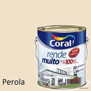 Tinta Acrilica Coral Rende Muito Galão 3,2 lt Shotcolor cor Perola
