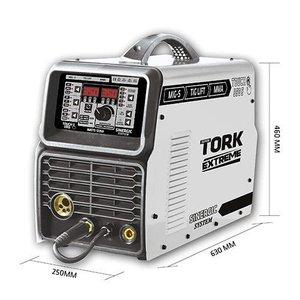 INVERSORA TORK 350 AMPERES MULTIFUNCAO (MIG/MMA/TIG) -3X - 220V