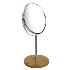 Espelho de Aumento com Base Bambu - BH20250 Espelho de Aumento com Basse Bambu - BH20250
