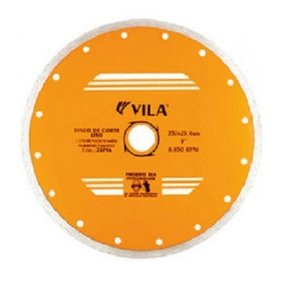 Disco Diamantado 230mm Liso Vila