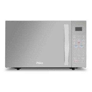 Micro-ondas Philco 26L 1400W Espelhado Branco 220V PMO26EB
