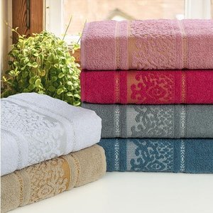 Jogo de toalha Margex 03 Banho + 03 Rosto Versailles