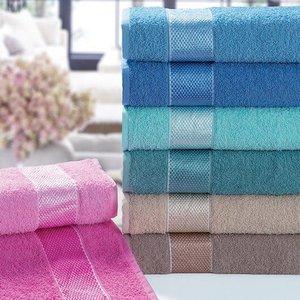 Jogo de toalha Margex (03 Banho + 03 Rosto) Sarah