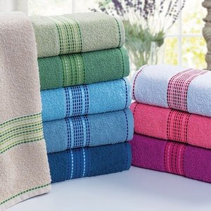 Jogo de toalha Margex (03 Banho + 03 Rosto) Sevilha