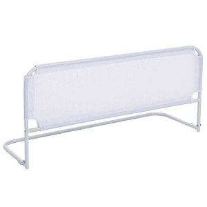 Grade de proteção cama box com tela de segurança para bebês e idosos - 88 x 54 cm