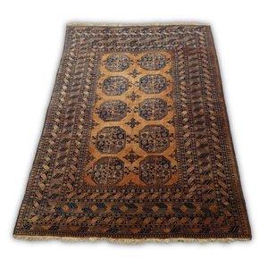 Tapete Oriental Gold Afghan - Handmade - 2,90 X 2,09 - Ref. 604