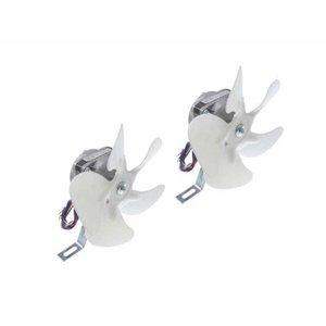 Micro Motor Ventilador Elco Bivolt 1/40 2 peças