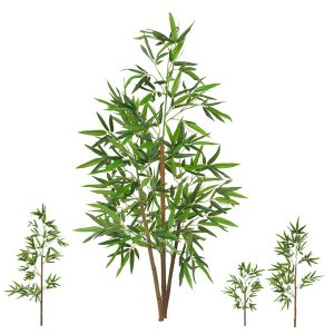 Planta Artificial Árvore Bambu Bamboo Real Toque 1,20 M