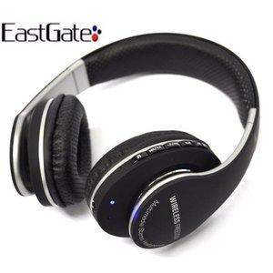 Fone Bluetooth Stereo Headset Áudio 2 Canais Com Microfone Eastgate - Preto