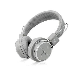 Fone de Ouvido Headphone Bluetooth Boas para iPhone - Cinza