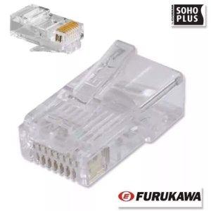 50x Conectores Rj45 Cat5e Furukawa Soho plus