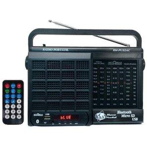 Rádio Rm Pu32Ac 7 Faixas Usb Sd Bluetooth -Motobras