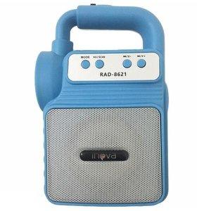 Caixa De Som Bluetooth Portátil 6W Lanterna Radio Fm Sd Usb