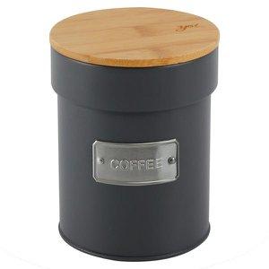 Lata Porta Condimento Matte Coffee Cinza