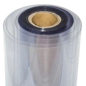 Plástico Pvc Transparente Cristal 0,60mm - 1,40 de Largura