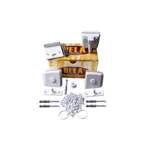 Kit 06 Para Montagem Basculante Pequeno V/a Branco