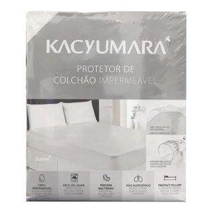 Protetor de Colchão Impermeável - Cama de Solteiro - Kacyumara