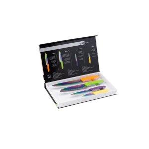 Kit 4 Facas de Corte Yuze Linha Titanium - Púrpura