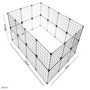 Cercadinho Para Pets, Porquinhos da índia e Roedores - 1,20 x 0,80 x 0,90