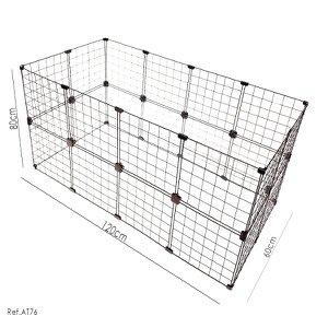 Cercadinho Para Pets, Porquinhos da índia e Roedores - 1,20 x 0,80 x 0,60