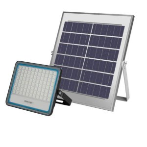 NOVO Refletor Solar SLIM 120 Watts LED 500 Watts Equivalente