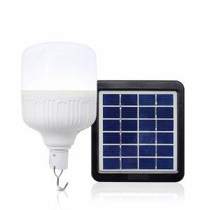 Lâmpada Led Bulbo Solar Recarregável 40 watts